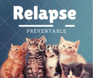 relapse ป้องกันได้